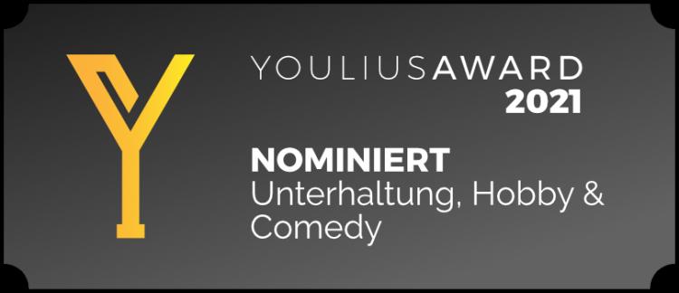 2021 - Nominiert Unterhaltung, Hobby & Comedy